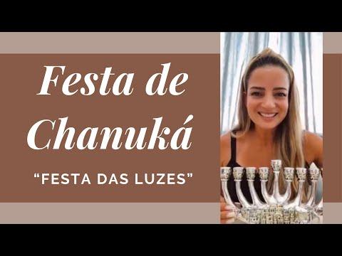 O Que é CHANUKA #chanuka #festadasluzes #hanukkah