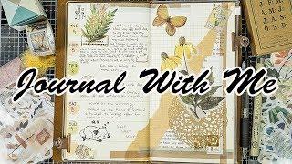 Journal With Me #2 | Midori Traveler's Notebook!