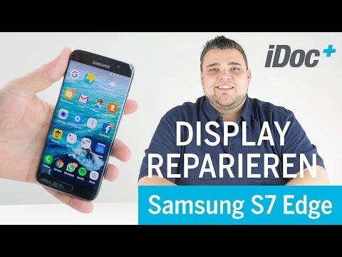 Galaxy S7 Edge - Display wechseln reparieren (link to english version in the video description)