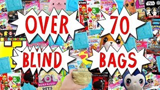 HUGE 70+ BLIND BAG OPENING 🎁 Squishies, Roblox & MORE Surprise Toy Compilation | Trusty Toy Channel