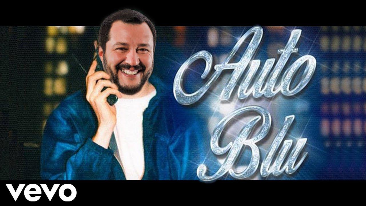 Matteo Salvini canta AUTO BLU di Shiva