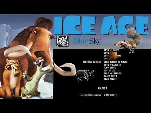 ENDING CREDITS ICE AGE - BLUE SKY STUDIOS