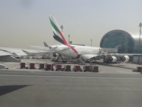 Emirates Airbus A380 - Dubai to London Heathrow