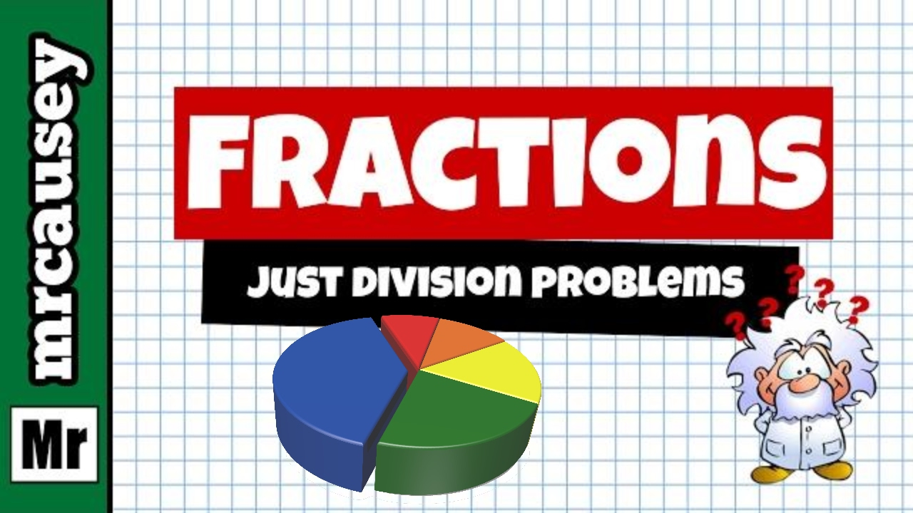 How To Add, Subtract, Multiply And Divide Fractions  Mr Causey's Algebra