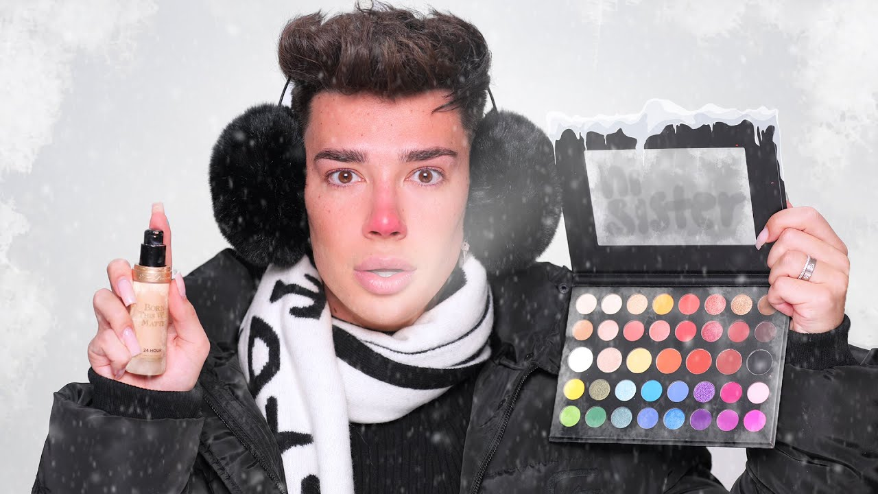 Full Face Using FROZEN Makeup Challenge 🥶