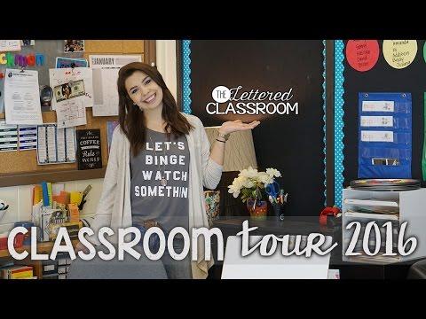 Classroom Tour 2016