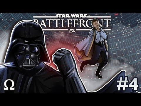 DARTH VADER IS A BEAST! | Star Wars Battlefront 2 #4 Multiplayer Ft. Cartoonz