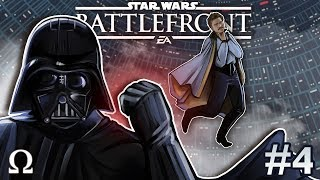 DARTH VADER IS A BEAST! | Star Wars Battlefront 2 #4 Multiplayer Ft. Cartoonz