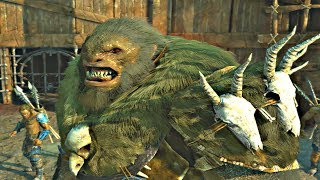 Shadow of War - High Level Boss vs Boss Pit Fights CHAMPIONS Epic Finishers