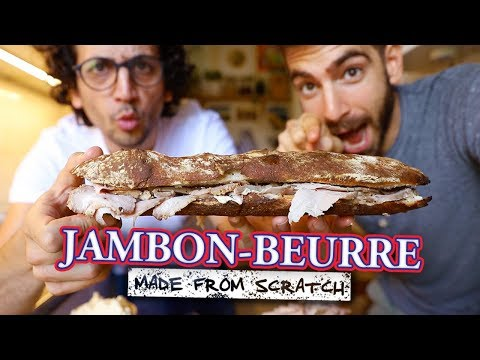 I flew in a French Guy to help perfect this sandwich...