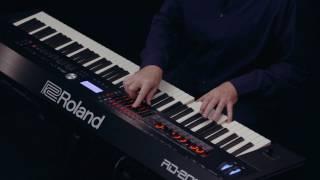 Roland RD-2000 walk-through :  8-Zone demo