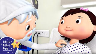 Staying In The Hospital!!! | Nursery Rhymes & Kids Songs! | Baby Songs | Little Baby Bum