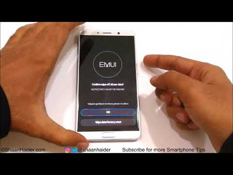 FORGOT PASSWORD - How To Unlock And Hard Reset Huawei Mate 10 And Mate 10 Pro