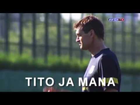 FC Barcelona - Tito ja mana