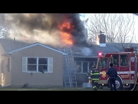 East Windsor House Fire Conover Road 02/04/17