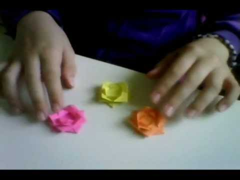 How to make a really easy origami flower youtube how to make a really easy origami flower mightylinksfo