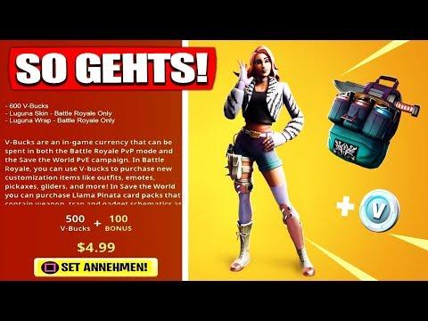 Fortnite Wilde Skin Starter Pack 7 bekommen! | SO GEHTS! – Fortnite Battle Royale Deutsch