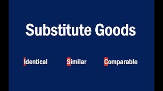 What are Substitute Goods?