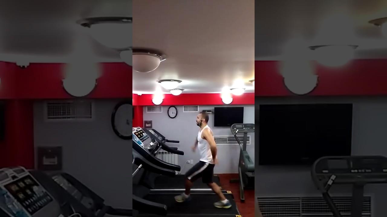 85a8df481 رقصة فريدة لشاب سوري أرمني على جهاز المشي الرياضي تبهر الملايين ...