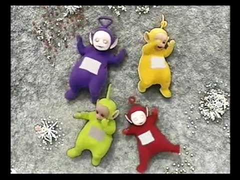 Teletūbiji un Sniegs latviski - Teletubbies and the Snow latvian