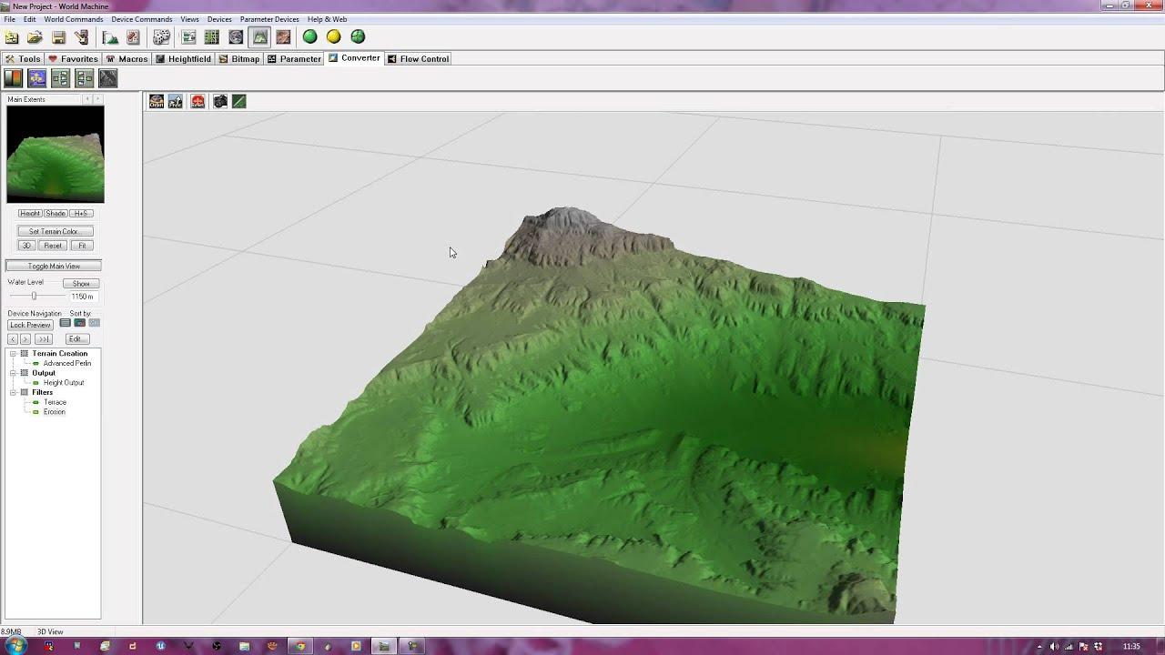 Worldmachine to Unreal Engine 4 - Creating Your Terrain