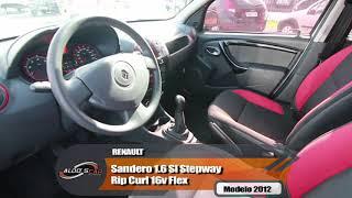 RENAULT SANDERO STEPWAY RIPCURL 1.6 EM EXCELENTE ESTADO AQUI NA ALDO'S CAR