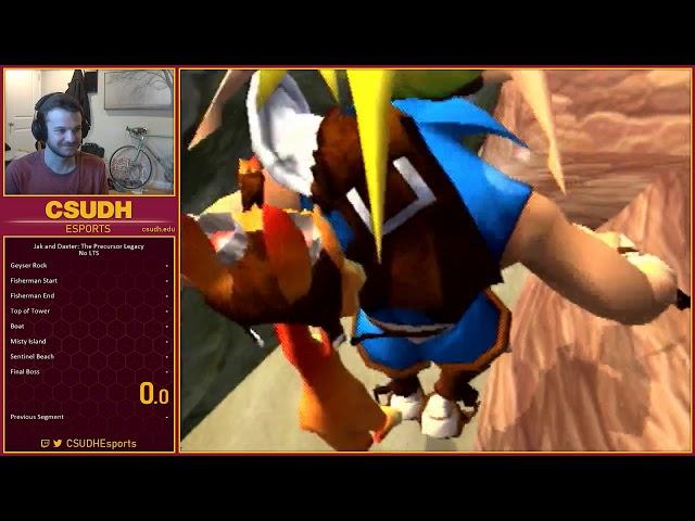 Jak and Daxter Community Speedrun Race feat. Ruh - CSUDH Esports (03/28/2020)