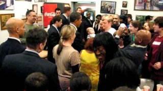 I got to meet Barack Obama at Ben's Chili Bowl...So cool