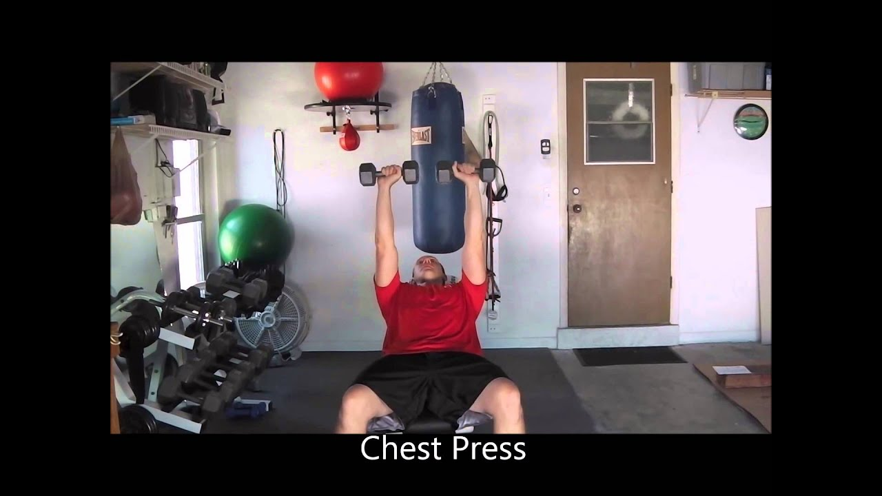 Great arm chest shoulder exercises total upper body home gym