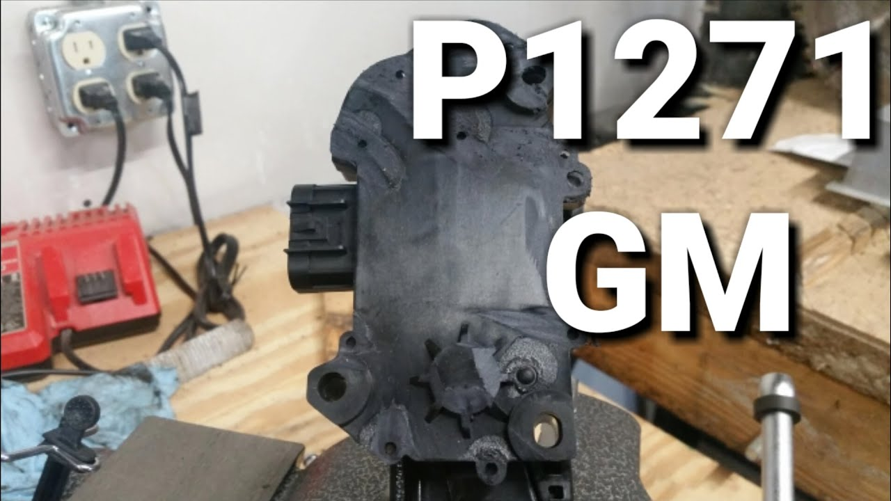 P1271 reduced engine power by The mech a nic