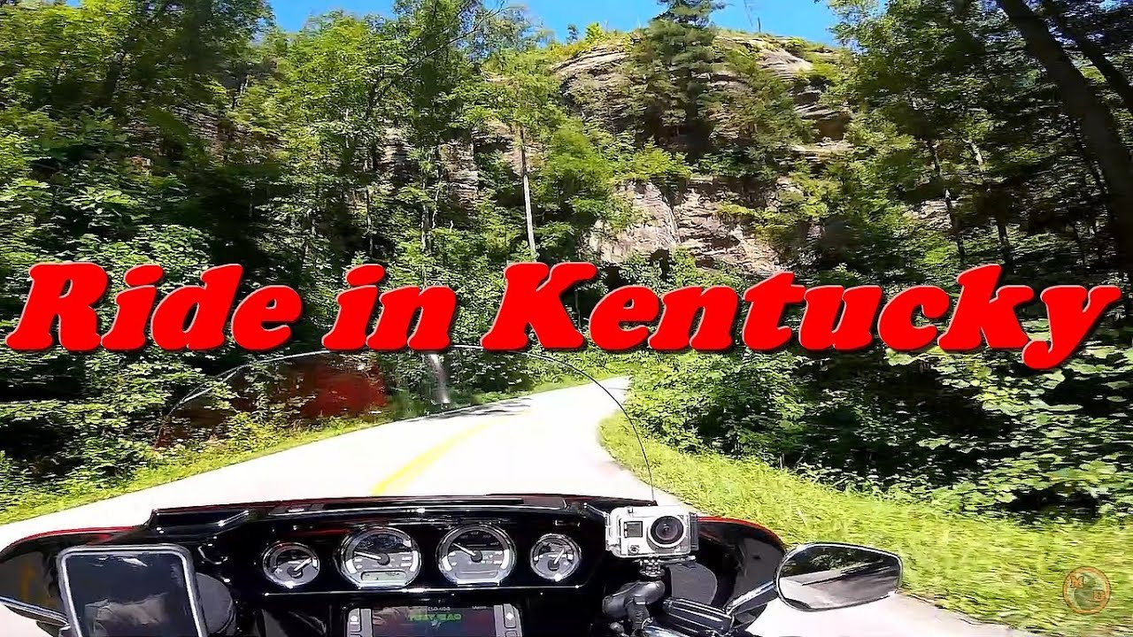 Motorcycle Riding in Kentucky   Married Couple Interaction   Curvy Scenic Roads