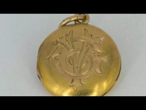 Actual Titanic locket found on ocean floor
