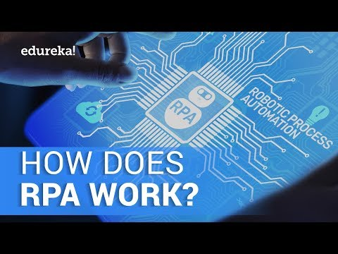 How Does RPA Work? | What Is Robotic Process Automation (RPA)? | RPA In 10 Minutes | Edureka