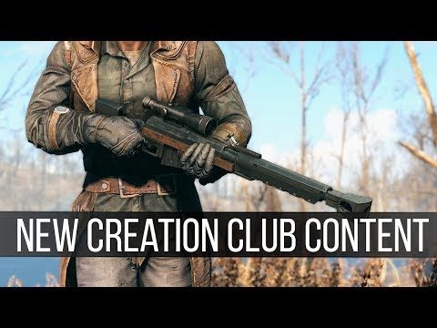 Trying the New Creation Club Releases for Fallout 4