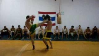 Muay thai fight k1,  Neandro vs Nildimar LUTA DE MUAY THAI