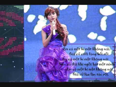 Bi mat cua em /w lyrics [OST dep tung centimet) - Thuy Tien