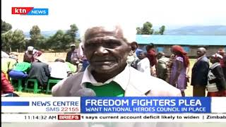 Freedom fighters want government to recognize them