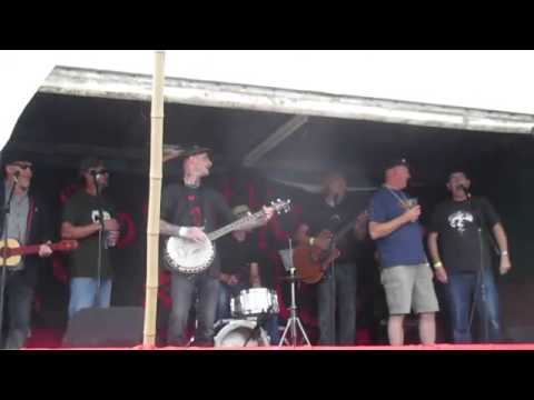 Blind Fever Band with Bart Hawkins and the brothers Carter at Something Else in the Dean 2015