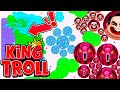 Agar.io Mobile - DON'T SPLIT! Troll - INSTANT MERGE GLITCH + New way to win BR