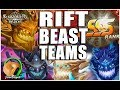 SUMMONERS WAR : How To Build SSS Rift Beast Teams