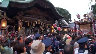 平成二十一年下総三山の七年祭での時平神社神輿・山車の様子です。神輿...