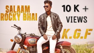 Salaam Rocky Bhai cover song II KGF chapter 1 II HST creations II YSC