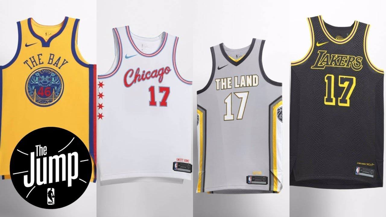 Nike unveils NBA  City  edition uniforms  20abecb0d