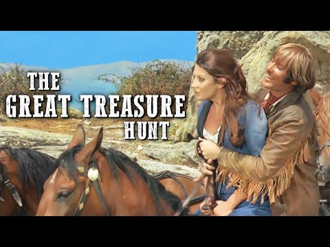 The Great Treasure Hunt   Full Length Western   Wild West   Classic Cowboy Movie   Full Movies