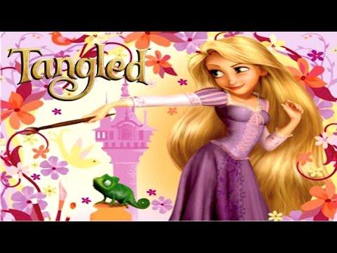 Disney Tangled Rapunzel Y Flynn Juego De La Pelicula Completo En Espanol Disney Tangled Enredados Youtube