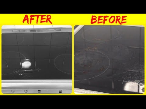 How to Clean Ceramic Hob | How to Clean Induction Hob | How to Clean and Maintain Ceramic Cooker