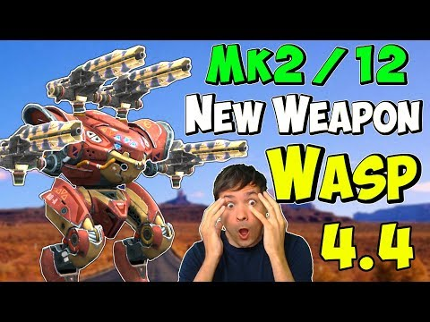 New Mk2 Corrosion Weapon WASP Spectre Gameplay - War Robots Update WR