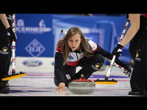 HIGHLIGHTS: Canada v Russia - CPT World Women's Curling Championship 2017