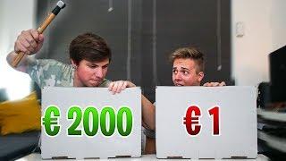 SLA NIET DE VERKEERDE MYSTERY BOX! (2000 EURO)