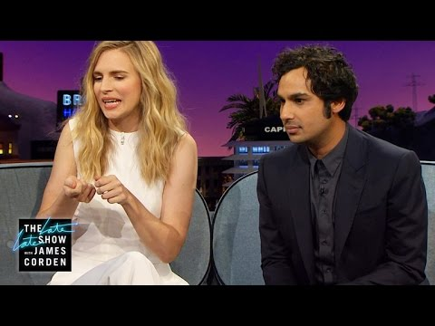 Brit Marling & Kunal Nayyar Share Their Special Talents